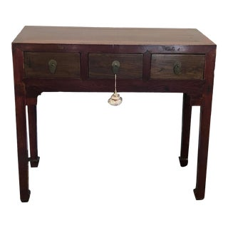Vintage Asian Inspired Altar Table For Sale