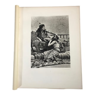 """1892 Antique Characters From Shakespeare's """"Anthony and Cleopatra"""" Photogravure Print For Sale"""