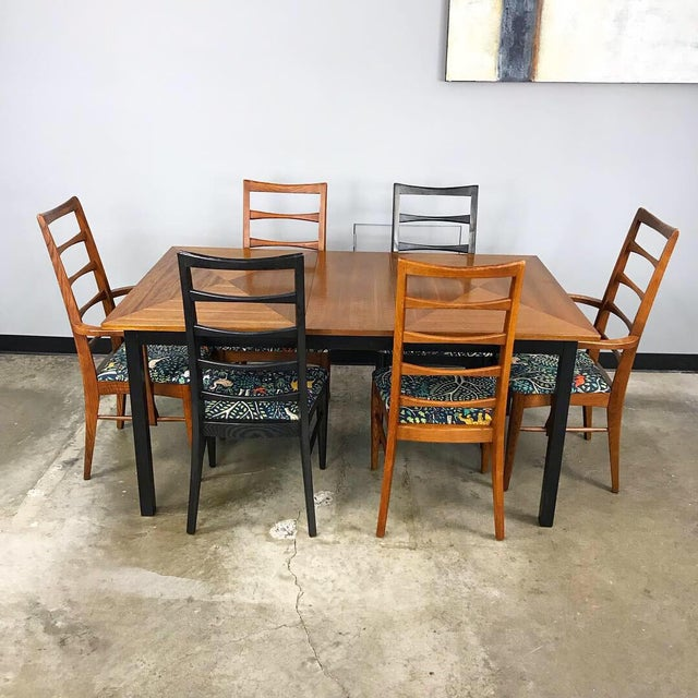 Mid-Century Modern Mid Century Modern Dining Set by Stanley For Sale - Image 3 of 13
