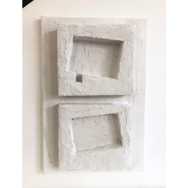 Original Sculptural Canvas Wall Art For Sale In Los Angeles - Image 6 of 6