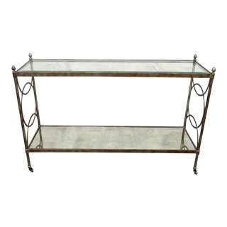Regency Style Console Table For Sale