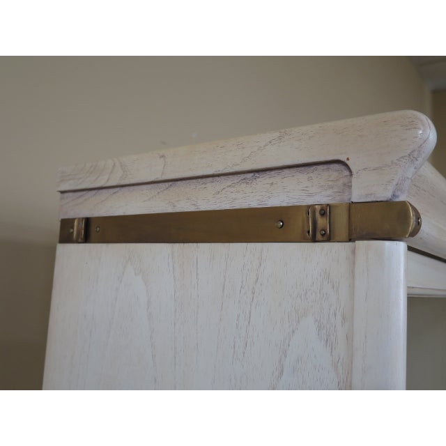 Transitional Globe Wernicke 4 Section White Stacking Narrow Bookcase For Sale In Philadelphia - Image 6 of 13