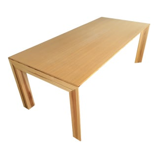 Ken Okuyama Wooden Dining Table For Sale