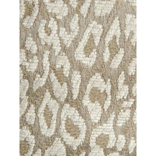 Scalamandre Leopard White Star Fabric For Sale