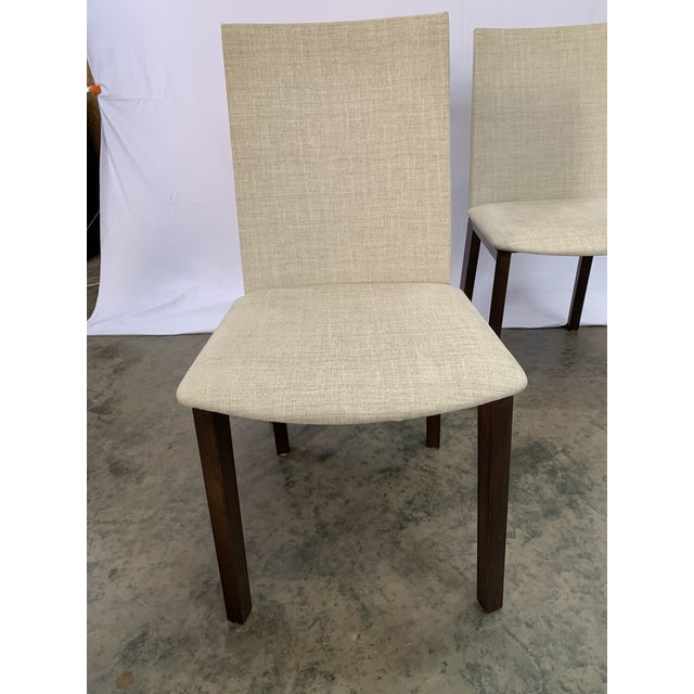 Danish Modern Skovby Extended Dining Table and Six Chairs -- 7 Pieces For Sale In Charlotte - Image 6 of 12