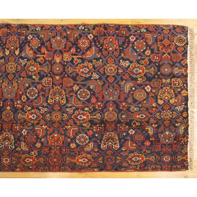 Persian 1920s Antique Persian Rug - 4′10″ × 3′ For Sale - Image 3 of 6