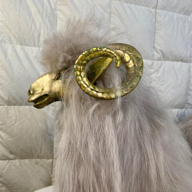 Lalanne Style Bronze Sheep Sculptures - a Pair For Sale In Palm Springs - Image 6 of 11