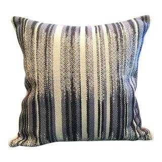 Scandinavian Inspired Woven Cotton Pillows For Sale