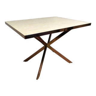 Postmodern Karl Springer Style Occasional Table For Sale