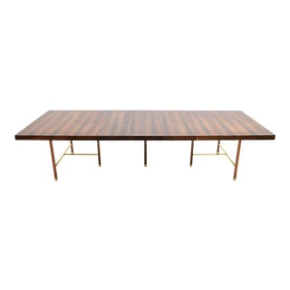 Harvey Probber Brazilian Rosewood Dining Table, 1950s For Sale