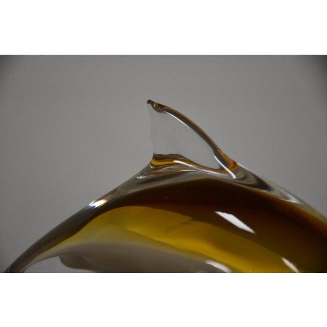 Murano Glass Dolphin For Sale In Boston - Image 6 of 7