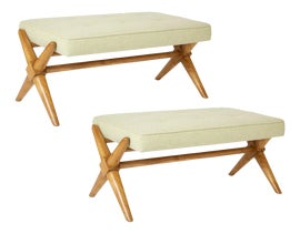 Image of Wood Benches