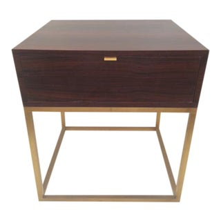 Todd Hase Macassar Ebony Duval Side Table For Sale
