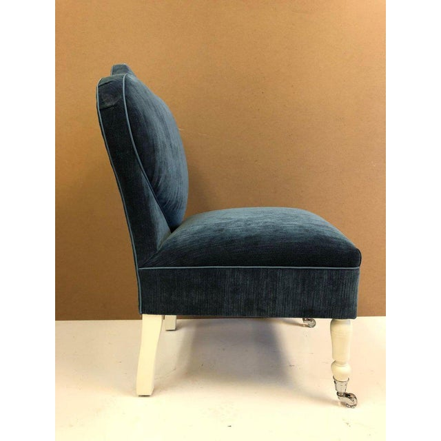 Art Deco Pair of Flavor Custom Design Lounge Chairs For Sale - Image 3 of 12