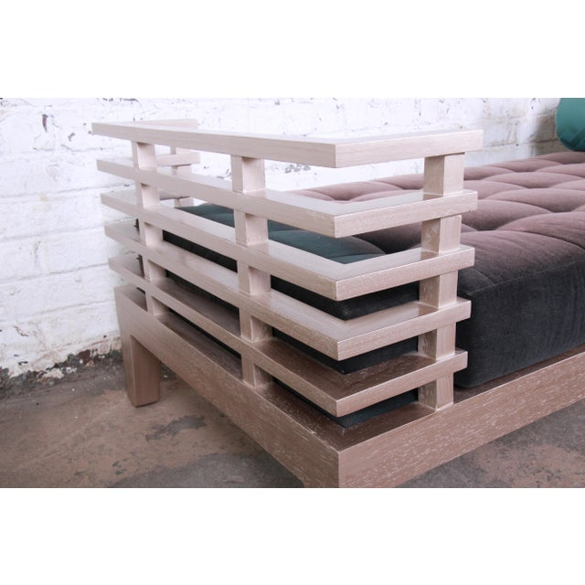 """Adriana Hoyos Modern """"Chocolate"""" Day Bed For Sale - Image 10 of 13"""