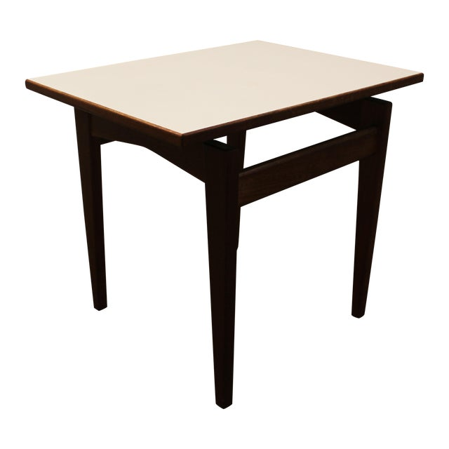 Jens Risom Vintage Danish Floating Top Side Table - Image 1 of 9