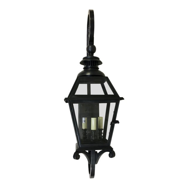 Traditional Chelsea Lantern by E. F. Chapman for Visual Comfort For Sale