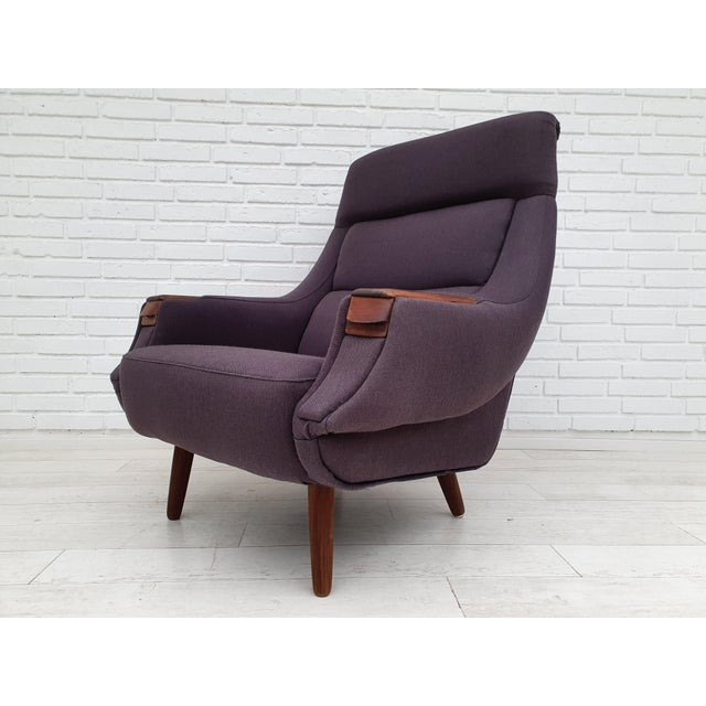1970s Vintage Danish Armchair by Henry Walter Klein | Chairish