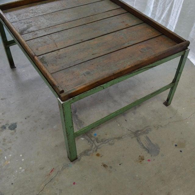 Peachy Rustic Industrial Iron And Wood Top Coffee Table Creativecarmelina Interior Chair Design Creativecarmelinacom