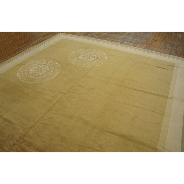 Antique Chinese Art Deco Rug For Sale In New York - Image 6 of 12