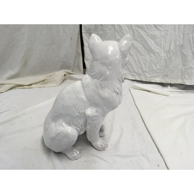 1970s Italian Terracotta Cat Figure For Sale - Image 5 of 10