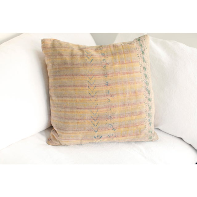 Contemporary ABC Carpet and Home Graffiti Pillow For Sale - Image 3 of 7