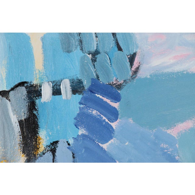 Contemporary Original Acrylic Abstract Painting by Lee Hafer For Sale - Image 3 of 9
