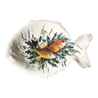 Mid Century Italian Fish Platter - Signed
