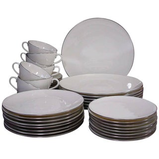 Lenox Cream Dinnerware - Set of 61