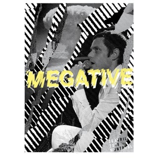 2018 Contemporary Music Poster - Megative For Sale