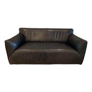 Van De Berg Leather Havana Sofa For Sale