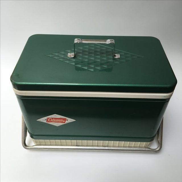 Vintage Coleman Cooler For Sale - Image 9 of 11