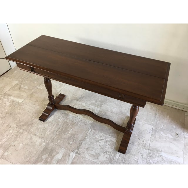 English Traditional Walter Company Slide Table or Desk For Sale - Image 13 of 13