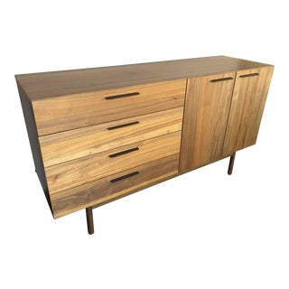 Modern Style Blu Dot Credenza For Sale