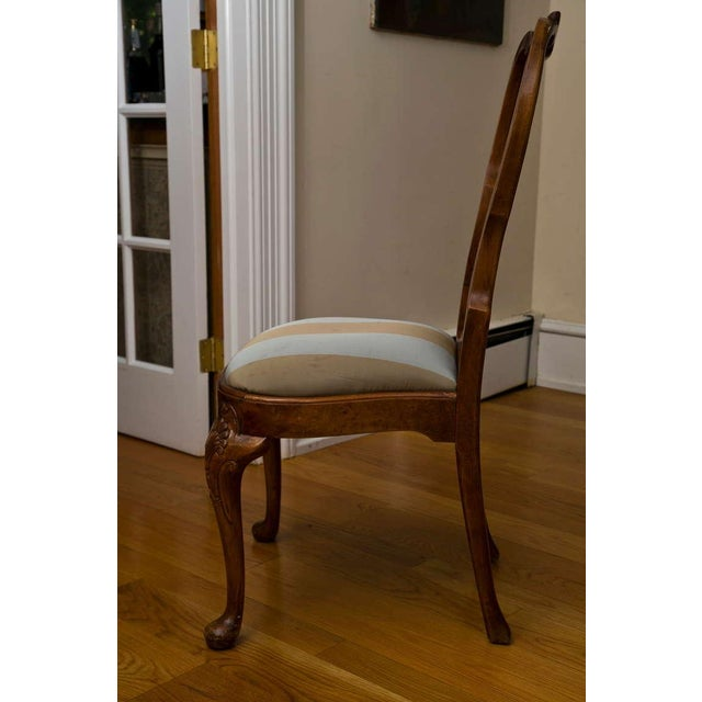 Antique Queen Anne Style Side Chair - Image 4 of 9