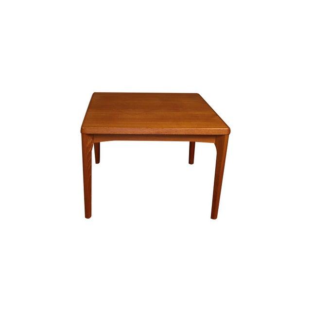 Mid Century Vejle Stole Mobelfabrik Danish Side Table For Sale - Image 11 of 11