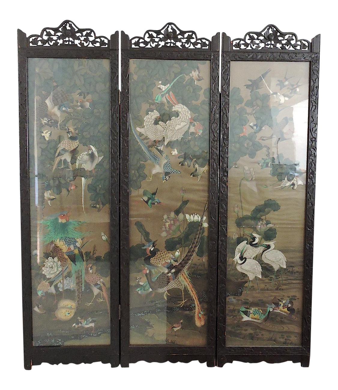 Vintage Used Tampa Screens and Room Dividers Chairish
