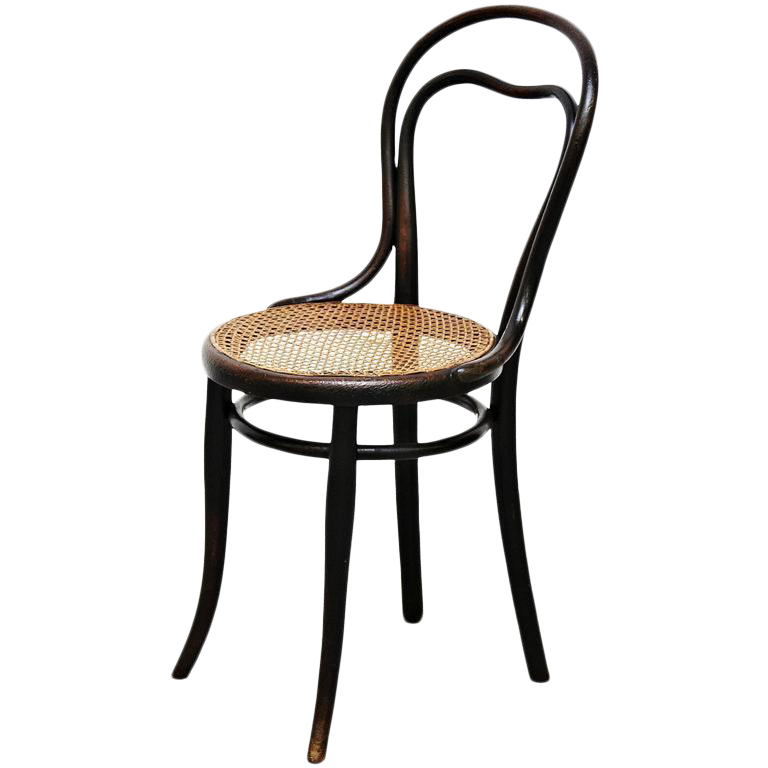Sophisticated Thonet Chair circa 1920 DECASO