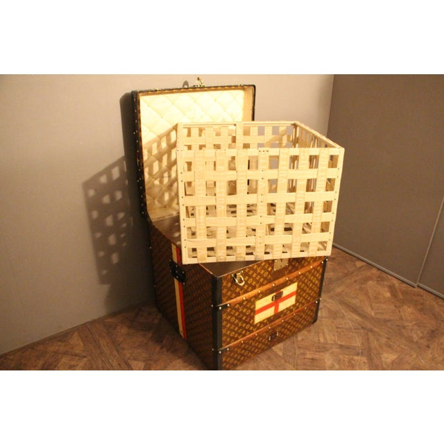 Louis Vuitton Cube Steamer Trunk For Sale - Image 13 of 13
