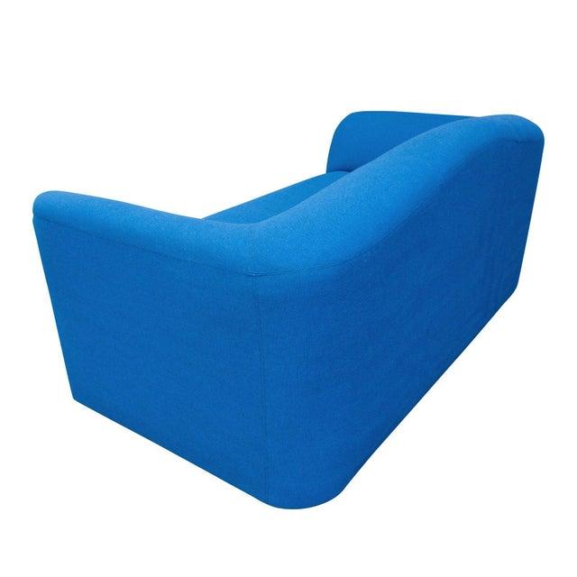Modern Modern Blue Loveseat by Leolux For Sale - Image 3 of 6
