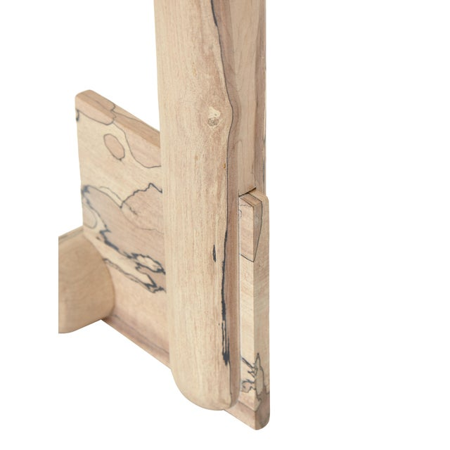Useful/ Useless Maple Sculpture by Hamilton Holmes For Sale - Image 4 of 5