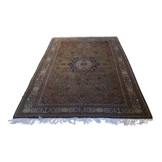 Vintage Persian Rug - 5′6″ × 9′1″ For Sale