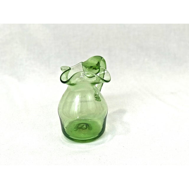 Blenko Blown Glass Pitcher - Image 4 of 4