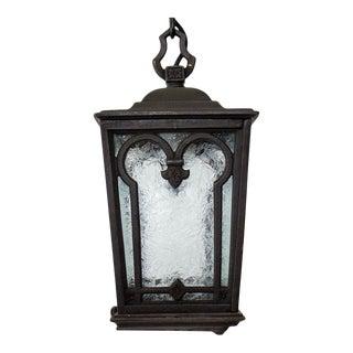Custom Cast Bronze Exterior Lantern For Sale