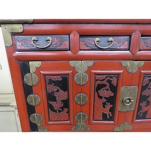Antique Asian Cabinet For Sale - Image 4 of 13 - Exquisite Antique Asian Cabinet DECASO