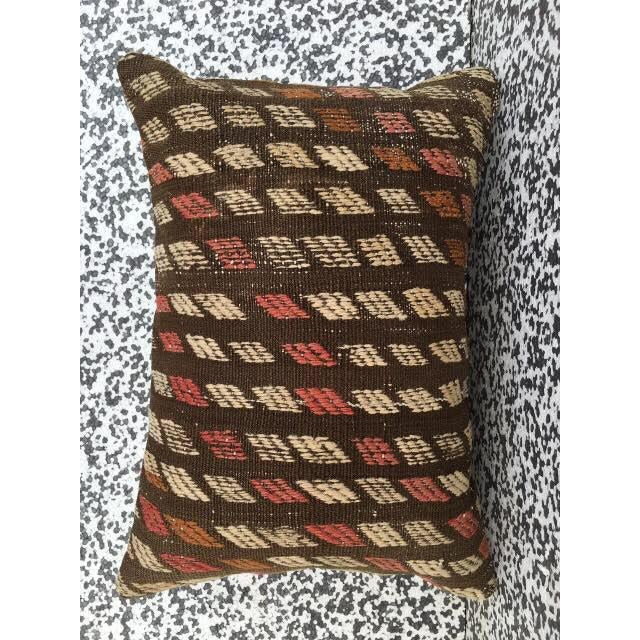 Turkish Kilim Pillow Cover - Image 5 of 6