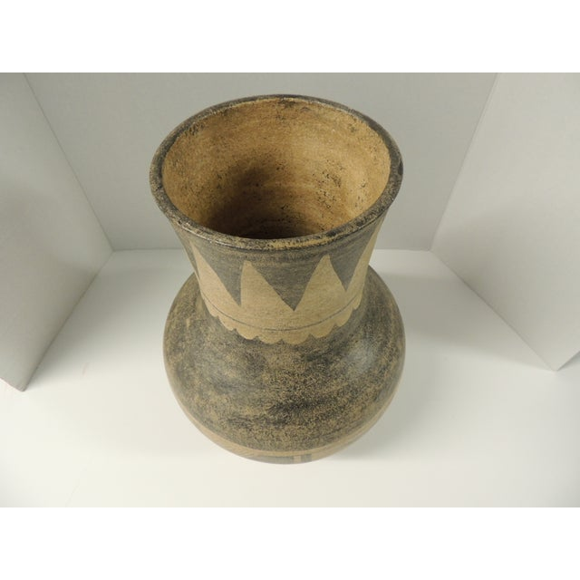 Vintage Mexican Large Terracotta Vase - Image 3 of 4