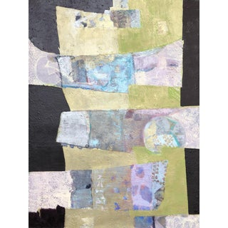 "Christine Averill-Green ""The Ties That Bind"" Contemporary Abstract Mixed Media Painting For Sale"