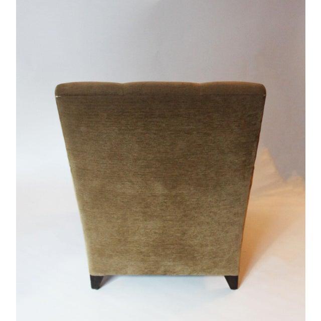 Modern Modern John Hutton for Donghia Eaton Tan Club Chair For Sale - Image 3 of 5