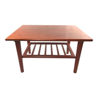 Soren Georg Jensen for Kubus Danish Mid-Century Modern Teak End Table